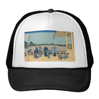 Hokusai Sazai Hall Trucker Hats