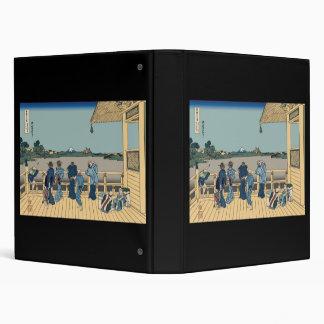 Hokusai Sazai Hall Vinyl Binder