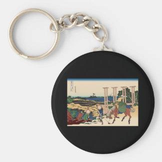 Hokusai Senju Musashi Province Key Chains