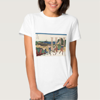 Hokusai Senju Musashi Province T-shirts