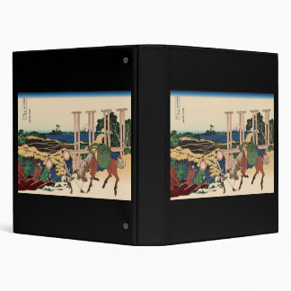 Hokusai Senju Musashi Province Vinyl Binder