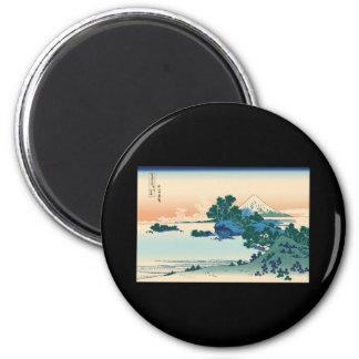 Hokusai Shichiri beach in Sagami Province Magnet