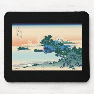 Hokusai Shichiri beach in Sagami Province Mouse Pad