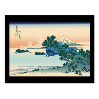 Hokusai Shichiri beach in Sagami Province Postcard