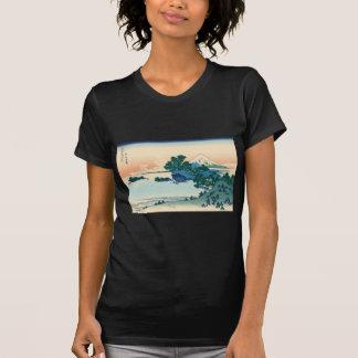 Hokusai Shichiri beach in Sagami Province T Shirts