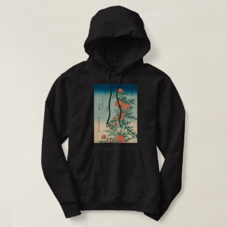 Hokusai Shrike and Blessed Thistle GalleryHD Art Hoodie