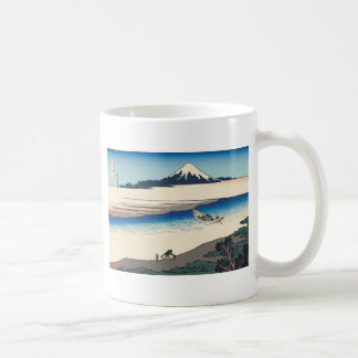 Hokusai Tama River in Musashi Province Coffee Mug
