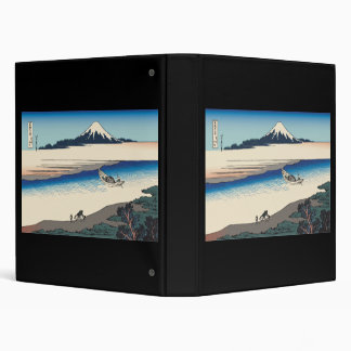 Hokusai Tama River in Musashi Province Vinyl Binder