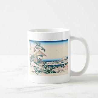 Hokusai Tea House Koishikawa Coffee Mug