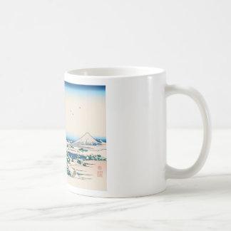 Hokusai Tea House Koishikawa Coffee Mugs