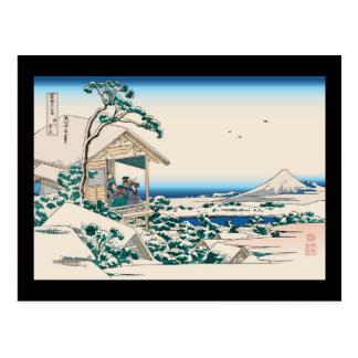 Hokusai Tea House Koishikawa Postcard