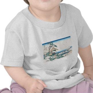 Hokusai Tea House Koishikawa T-shirts