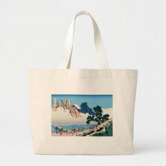 Hokusai The back of Fuji from the Minobu river Canvas Bag