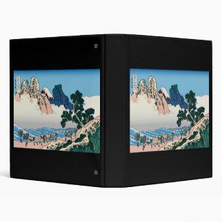 Hokusai The back of Fuji from the Minobu river Binder