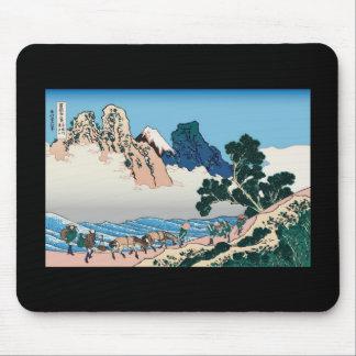 Hokusai The back of Fuji from the Minobu river Mouse Pad