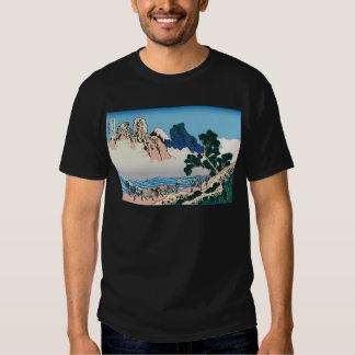 Hokusai The back of Fuji from the Minobu river Tshirts