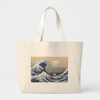 Hokusai The Great Wave Bag