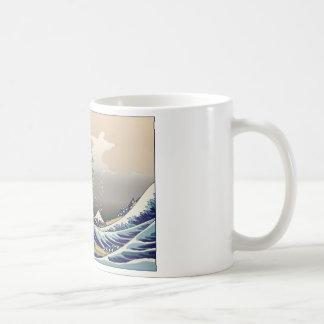 Hokusai The Great Wave Classic White Coffee Mug