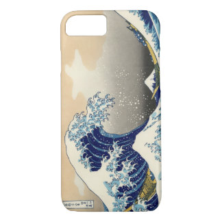 Hokusai The Great Wave iPhone 7 case (landscape)