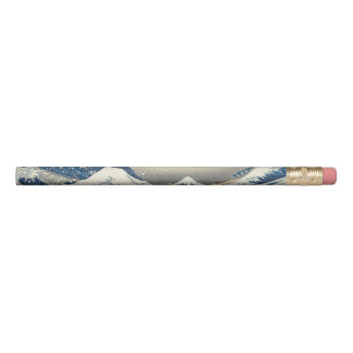 Hokusai The Great Wave Off Kanagawa Pencil