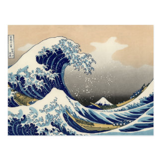 Hokusai 'The Great Wave off Kanagawa' Postcard