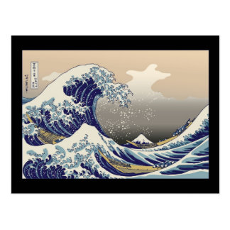 Hokusai The Great Wave Post Card