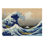 Hokusai The Great Wave Poster