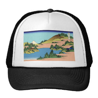 Hokusai The lake of Hakone in Sagami Province Trucker Hat