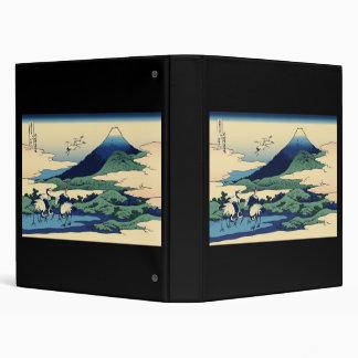Hokusai Umegawa in Sagami Province Binders