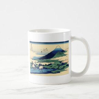 Hokusai Umegawa in Sagami Province Coffee Mugs