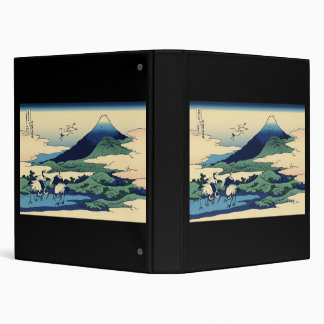 Hokusai Umegawa in Sagami Province Vinyl Binder