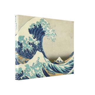 Hokusai's The Great Wave off Kanagawa Canvas Print