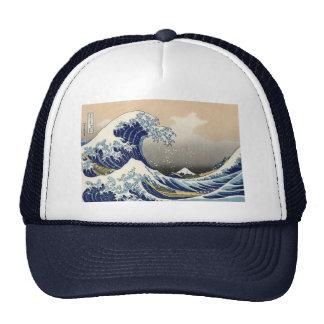 Hokusai's 'The Great Wave Off Kanagawa' Hat