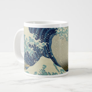 Hokusai's The Great Wave off Kanagawa Jumbo Mug