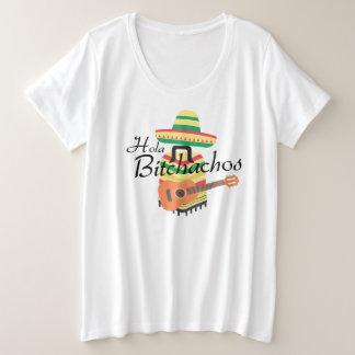 Hola Bitchachos Plus Size Tee