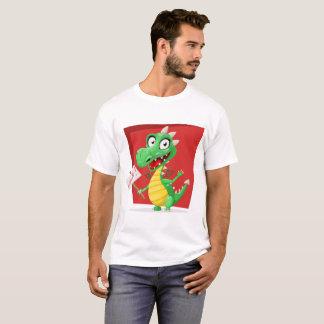 Hola Dino men's value t-shirt