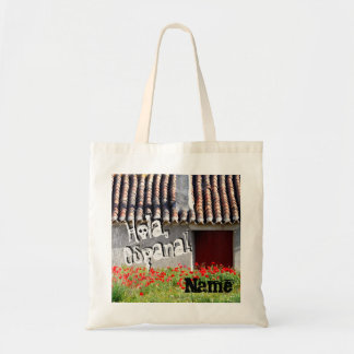 Hola Espana/Hello Spain Custom Travel Tote Bag