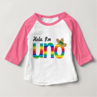 Hola, I'm UNO! Baby T-Shirt