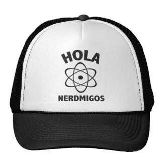 Hola Nerdmigos Trucker Hat
