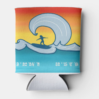 ¡Hola Olas! – Colorful Tropical Surfing Cooler
