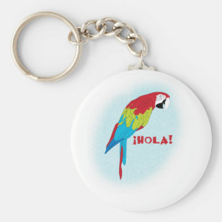 hola parrot keychain