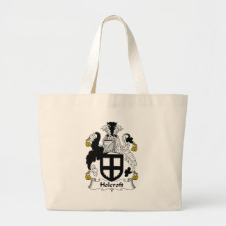 Holcroft Family Crest Jumbo Tote Bag