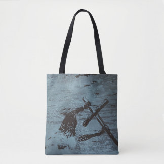"""""""Hold"""" All-Over-Print Tote Bag"""