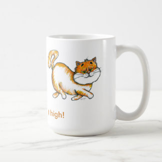 Hold It High Royal Cat Coffee Cup