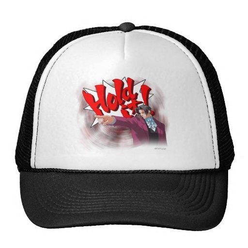 Hold It! Miles Edgeworth Trucker Hat