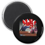 Hold It! Phoenix Wright & Miles Edgeworth 2 Inch Round Magnet