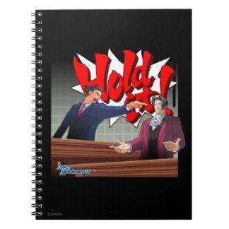 Hold It! Phoenix Wright & Miles Edgeworth Notebooks