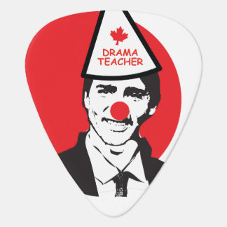 Hold My Beer Funny Justin trudeau Canada Clown Guitar Pick