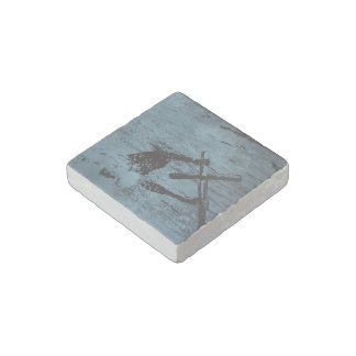 """Hold"" Natural Stone Magnet"
