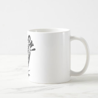 Hold On! Hand Coffee Mug